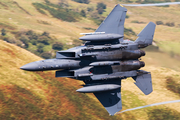 United States Air Force McDonnell Douglas F-15E Strike Eagle (00-3001) at  Mach Loop - CAD West, United Kingdom