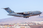 United States Air Force Boeing C-17A Globemaster III (03-3116) at  Gran Canaria, Spain
