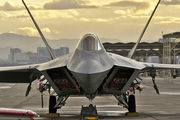 United States Air Force Lockheed Martin / Boeing F-22A Raptor (06-4124) at  Las Vegas - Nellis AFB, United States