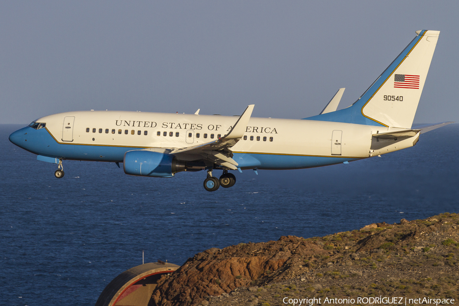 United States Air Force Boeing C-40C Clipper (09-0540) | Photo 147880