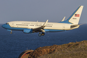 United States Air Force Boeing C-40C Clipper (09-0540) at  Gran Canaria, Spain