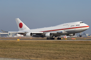 Japanese Government Boeing 747-47C (20-1101) at  Frankfurt am Main, Germany