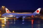 Japanese Government Boeing 747-47C (20-1101) at  Hannover - Langenhagen, Germany