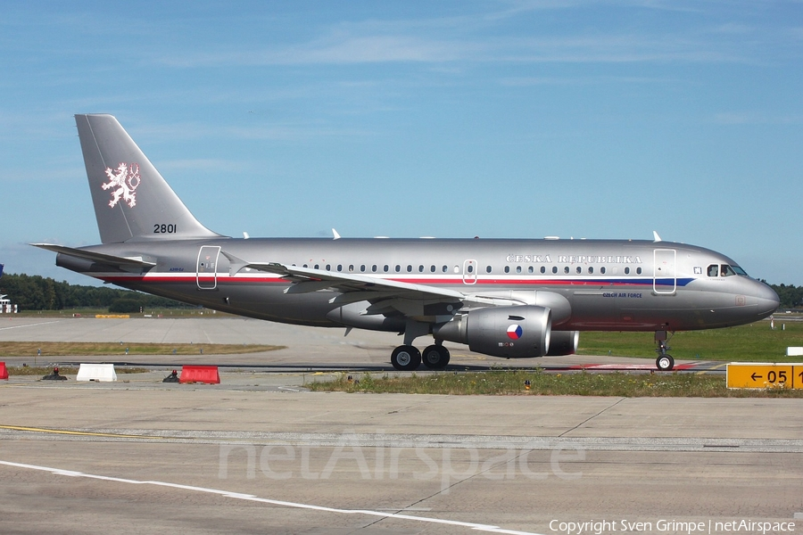 Czech Air Force Airbus A319-115X CJ (2801) | Photo 256891