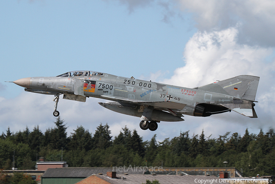 German Air Force McDonnell Douglas F-4F Phantom II (3748) | Photo 20345