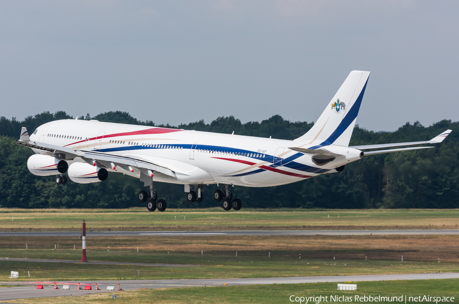 Swazi Government Airbus A340-313X (3DC-SDF) | Photo 248550