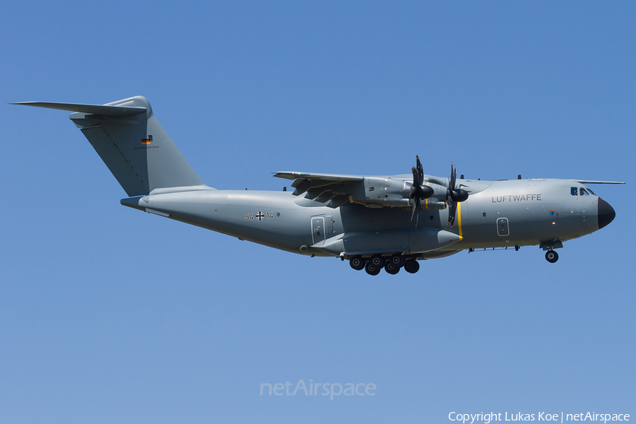 German Air Force Airbus A400M-180 Atlas (5414) | Photo 247078