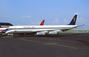 Okada Air Douglas DC-8-62 (5N-AON) at  Luxembourg - Findel, Luxembourg