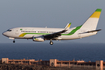 Mauritania Airlines Boeing 737-7EE (5T-CLC) at  Gran Canaria, Spain