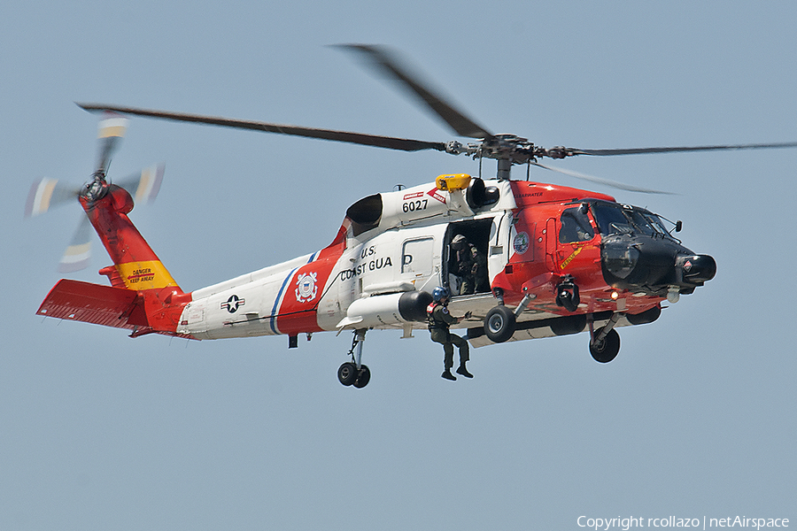 United States Coast Guard Sikorsky MH-60T Jayhawk (6027) | Photo 107822