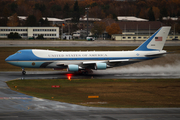 United States Air Force Boeing VC-25A (82-8000) at  Berlin - Tegel, Germany