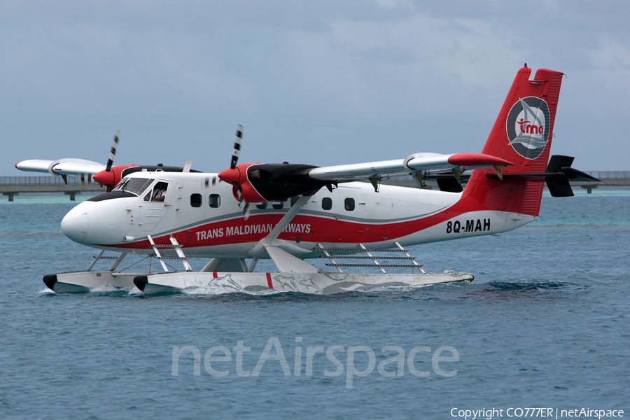 Trans Maldivian Airways de Havilland Canada DHC-6-300 Twin Otter (8Q-MAH) | Photo 219818