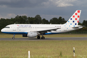 Croatia Airlines Airbus A319-112 (9A-CTH) at  Hamburg - Fuhlsbuettel (Helmut Schmidt), Germany