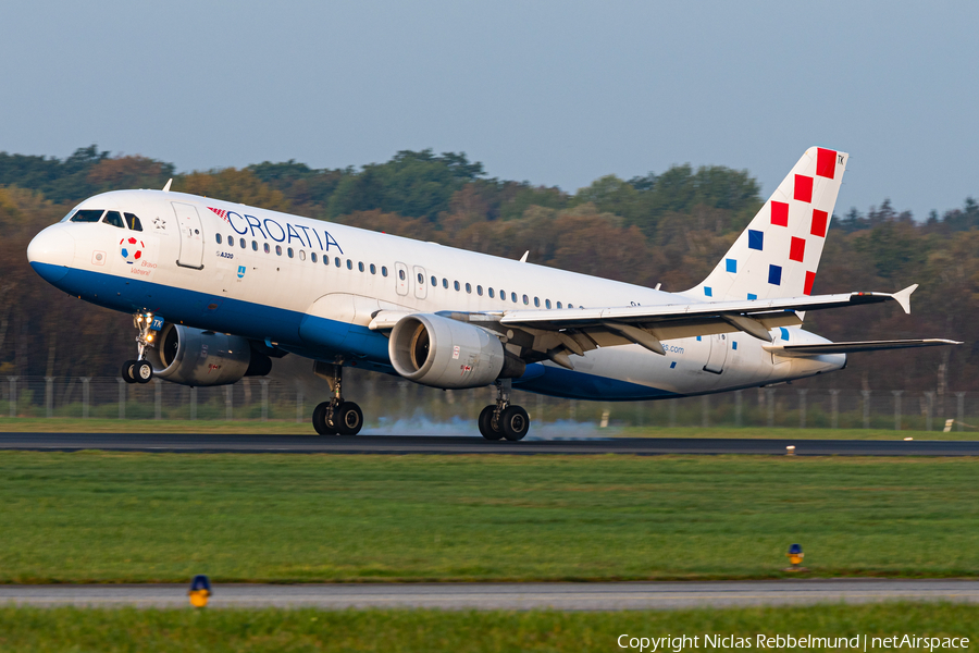 Croatia Airlines Airbus A320-214 (9A-CTK) | Photo 353186