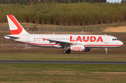 Lauda Europe Airbus A320-232 (9H-LMG) at  Billund, Denmark