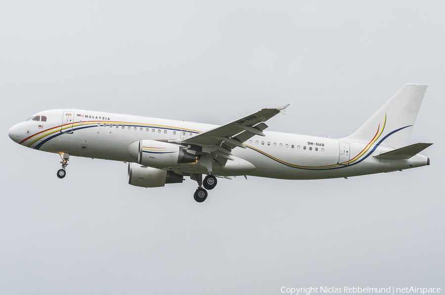 Malaysian Government Airbus A320-214(CJ) Prestige (9M-NAB) | Photo 260497