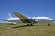 Services Air Cargo Douglas DC-6A (9Q-CGZ) at  Rand, South Africa