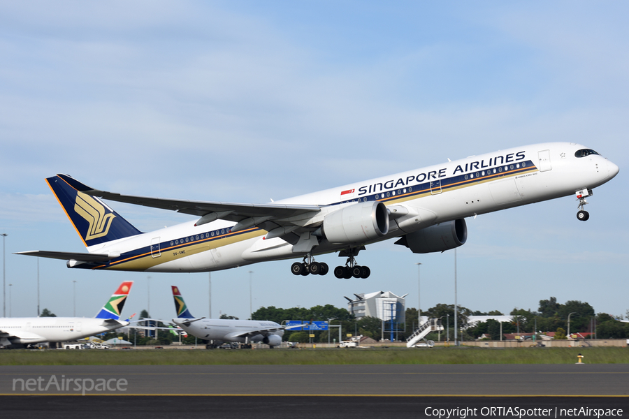Singapore Airlines Airbus A350-941 (9V-SME) | Photo 374712