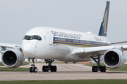 Singapore Airlines Airbus A350-941 (9V-SMF) at  Manchester - International (Ringway), United Kingdom