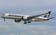 Singapore Airlines Airbus A350-941 (9V-SMS) at  Barcelona - El Prat, Spain