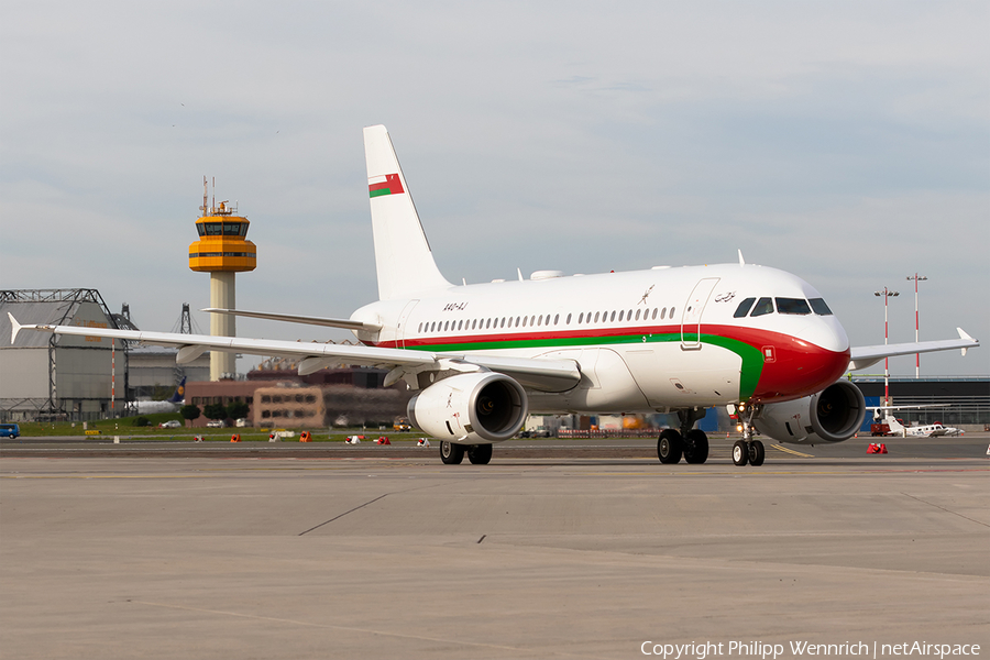 Oman Royal Flight Airbus A319-133X CJ (A4O-AJ) | Photo 347785