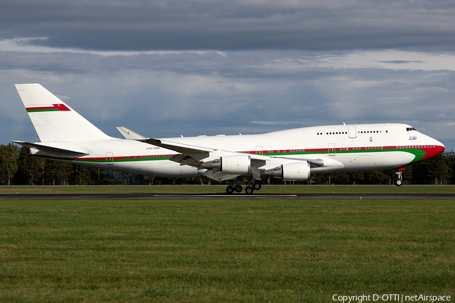 Omani Government Boeing 747-430 (A4O-OMN) | Photo 405335