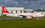 Air Arabia Airbus A320-214 (A6-ANG) at  Hamburg - Finkenwerder, Germany