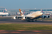 Etihad Airways Airbus A380-861 (A6-APJ) at  London - Heathrow, United Kingdom