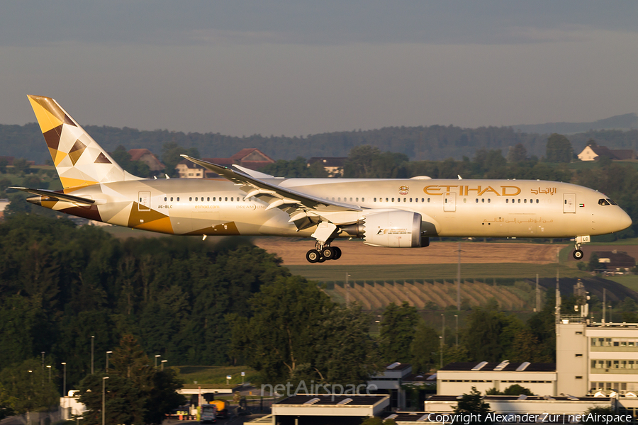 Etihad Airways Boeing 787-9 Dreamliner (A6-BLC) | Photo 118950