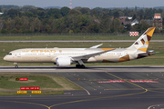 Etihad Airways Boeing 787-9 Dreamliner (A6-BLR) at  Dusseldorf - International, Germany