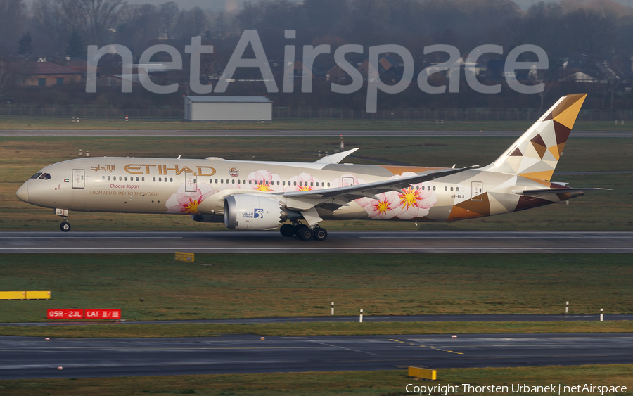 Etihad Airways Boeing 787-9 Dreamliner (A6-BLS) | Photo 371914