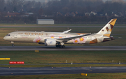 Etihad Airways Boeing 787-9 Dreamliner (A6-BLS) at  Dusseldorf - International, Germany