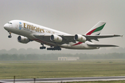 Emirates Airbus A380-861 (A6-EEX) at  Dusseldorf - International, Germany