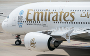 Emirates Airbus A380-861 (A6-EEY) at  Dusseldorf - International, Germany