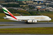 Emirates Airbus A380-841 (A6-EUR) at  Sao Paulo - Guarulhos - Andre Franco Montoro (Cumbica), Brazil