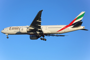 Emirates Boeing 777-21H(LR) (A6-EWD) at  Barcelona - El Prat, Spain