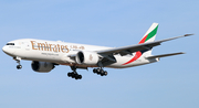 Emirates Boeing 777-21H(LR) (A6-EWI) at  Barcelona - El Prat, Spain