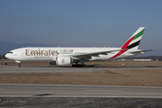 Emirates Boeing 777-21H(LR) (A6-EWI) at  Geneva - International, Switzerland