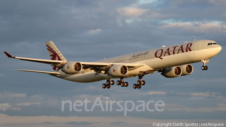 Qatar Airways Airbus A340-642 (A7-AGD) | Photo 225269