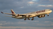 Qatar Airways Airbus A340-642 (A7-AGD) at  Paris - Charles de Gaulle (Roissy), France
