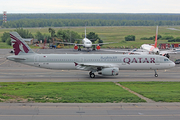 Qatar Airways Airbus A321-231 (A7-AID) at  Moscow - Domodedovo, Russia