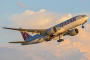 Qatar Airways Boeing 777-2DZ(LR) (A7-BBF) at  Atlanta - Hartsfield-Jackson International, United States