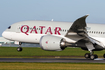 Qatar Airways Boeing 787-8 Dreamliner (A7-BCT) at  Dublin, Ireland