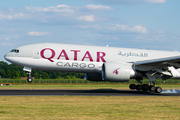 Qatar Airways Cargo Boeing 777-FDZ (A7-BFA) at  Maastricht-Aachen, Netherlands