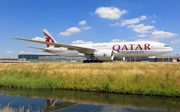 Qatar Airways Cargo Boeing 777-FDZ (A7-BFC) at  Amsterdam - Schiphol, Netherlands