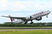 Qatar Airways Cargo Boeing 777-FDZ (A7-BFC) at  Maastricht-Aachen, Netherlands