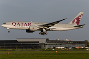 Qatar Airways Cargo Boeing 777-FDZ (A7-BFD) at  Amsterdam - Schiphol, Netherlands