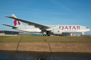 Qatar Airways Cargo Boeing 777-FDZ (A7-BFE) at  Amsterdam - Schiphol, Netherlands