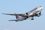 Qatar Airways Cargo Boeing 777-FDZ (A7-BFE) at  Atlanta - Hartsfield-Jackson International, United States