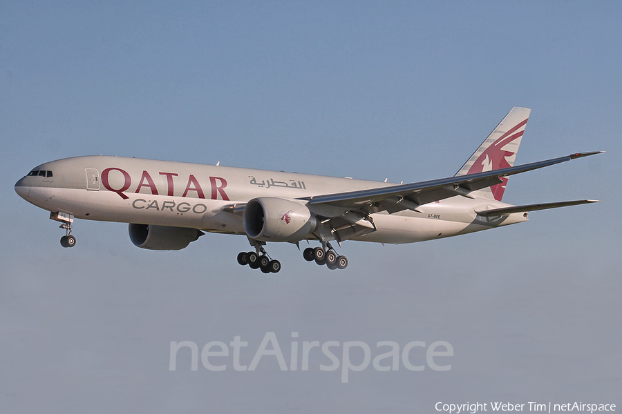 Qatar Airways Cargo Boeing 777-FDZ (A7-BFE) | Photo 165262